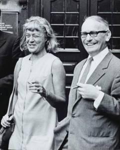 Tove Ditlevsen og Victor Andreasen