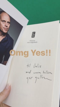 Geir Gulliksens signering